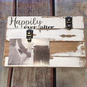 Sweet Bird Accents - Happily Ever After Distressed Photo Holder New
